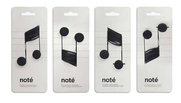 A very clever way to sell earbuds.