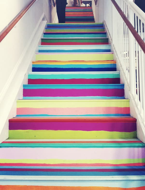 Make your stairs pop.