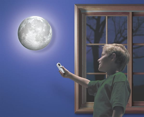 """""""Moon in My Room"""" actually shows the phases of the moon."""