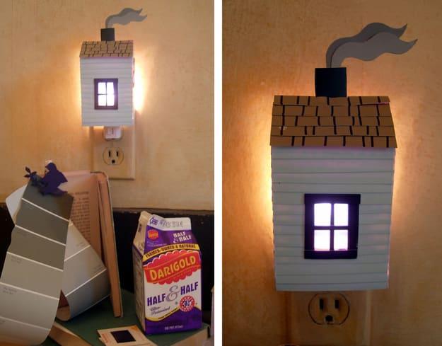 DIY House Night Light