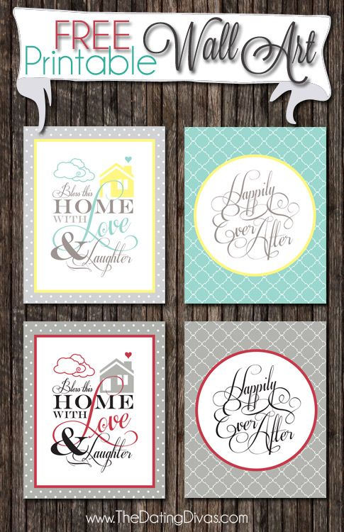image about Free Printable Wall Art Decor named 34 Totally free Wall Artwork Printables Toward Cling Inside of Your Household -DesignBump