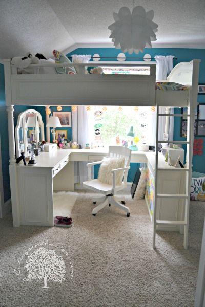 Room Designs For Girl: 20 Beautiful Examples Of Girls Bedroom Ideas -DesignBump