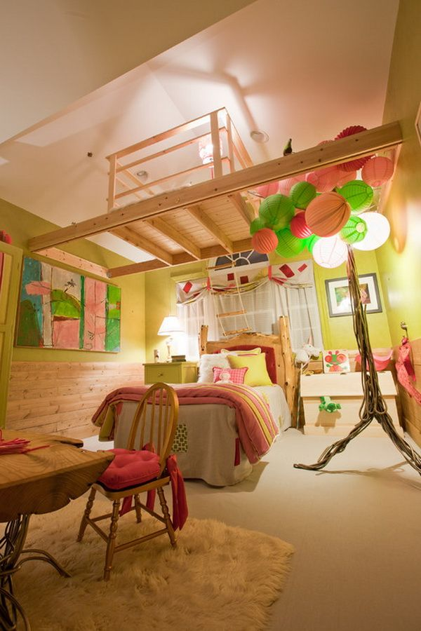 20 Beautiful Examples of Girls Bedroom Ideas -DesignBump on Decoration Room For Girl  id=55730