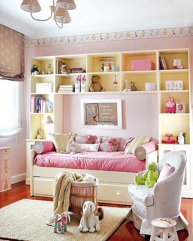 20 Beautiful Examples of Girls Bedroom Ideas -DesignBump