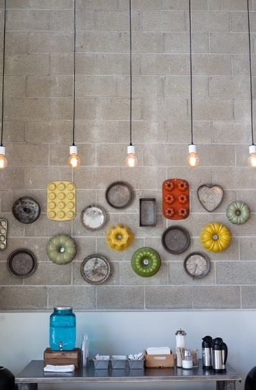 25 clever kitchens wall art decor ideas designbump - Kitchen wall decorating ideas do it yourself ...