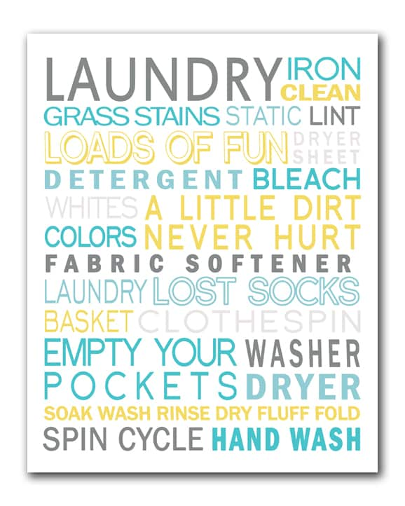 laundryroom subway art preview 30 fabulous free printables {for the home}