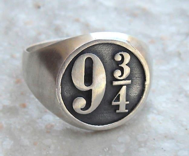 Harry Potter ring ($60).