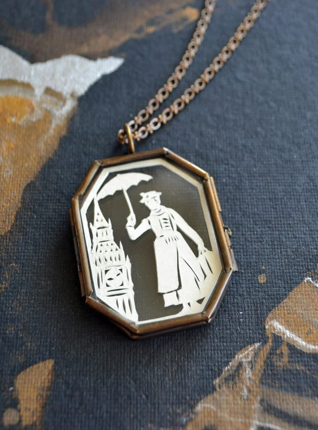 Mary Poppins necklace ($95).