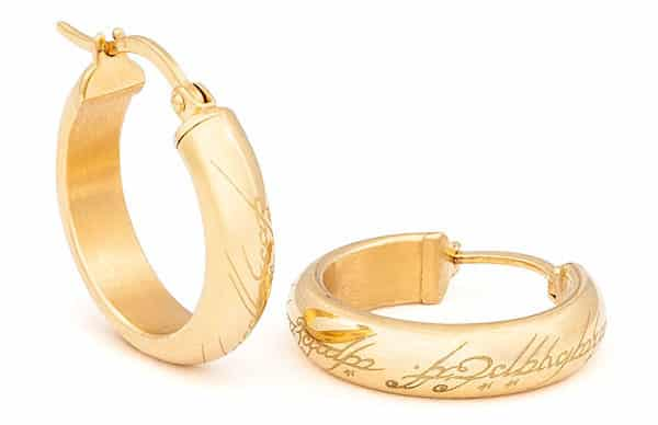 The Lord of the Rings earrings ($49).