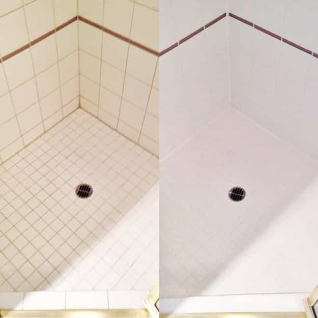 Use liquid shower gel (not soap) to avoid soap scum buildup in your tub.