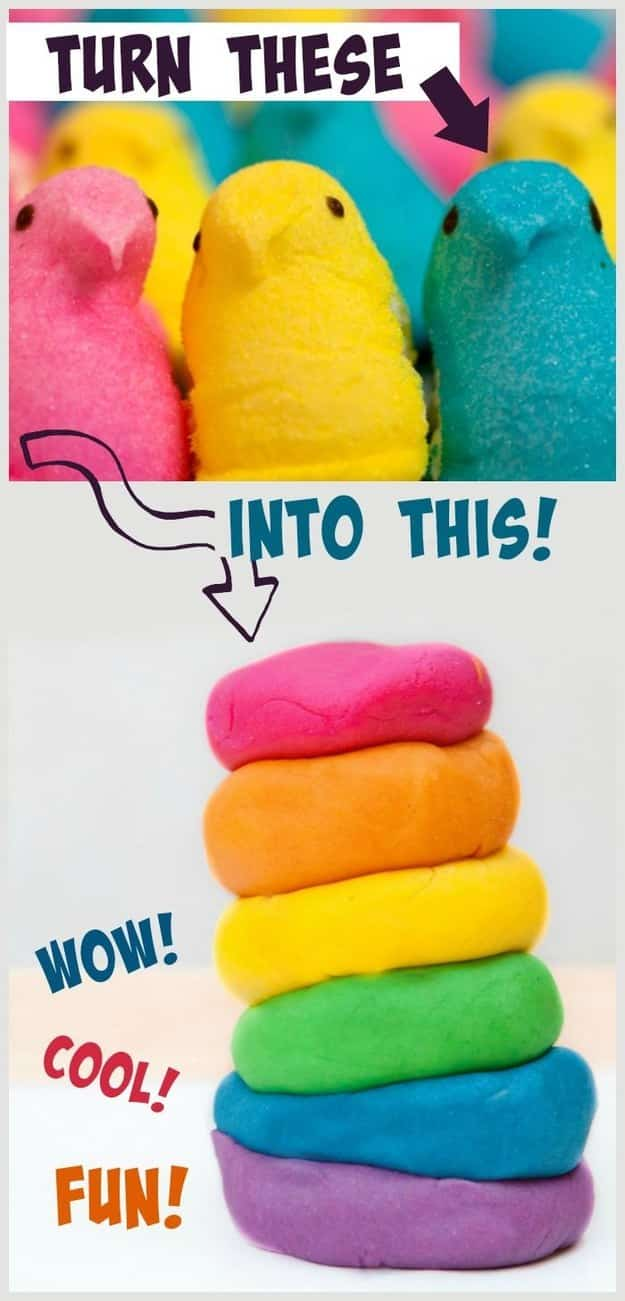 Whip up some Peeps Play-Doh.