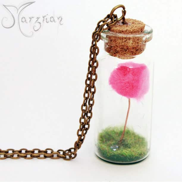 The Lorax necklace ($12)