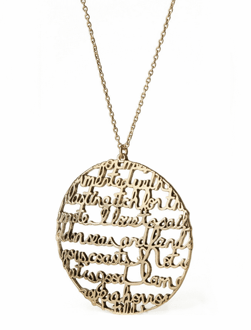 Moby Dick necklace ($24).