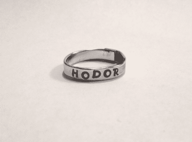 A Song of Ice and Fire ring ($15).