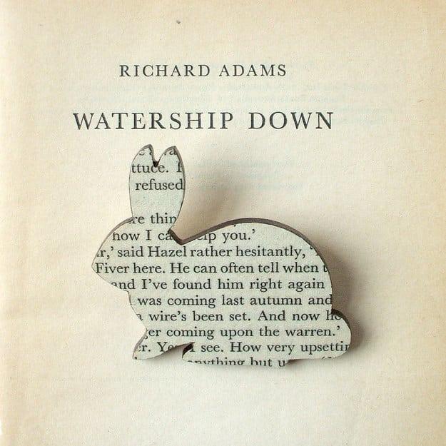 Watership Down brooch ($16).