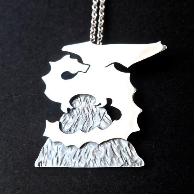 The Hobbit necklace ($98).