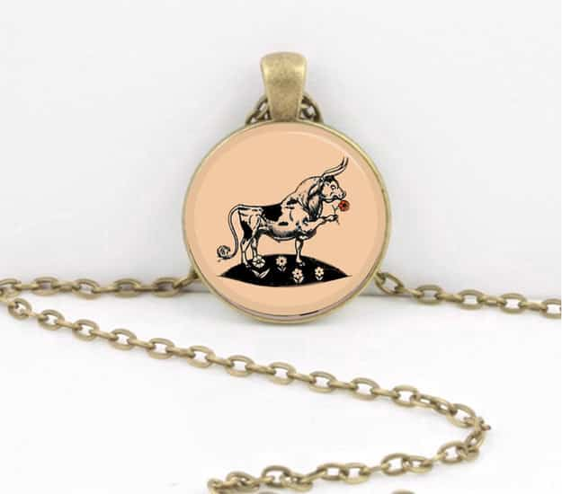 The Story of Ferdinand necklace ($13).