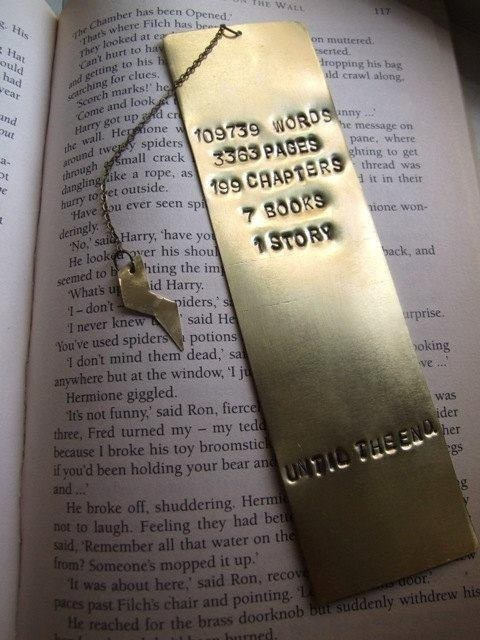 This bookmark that will always save your place.