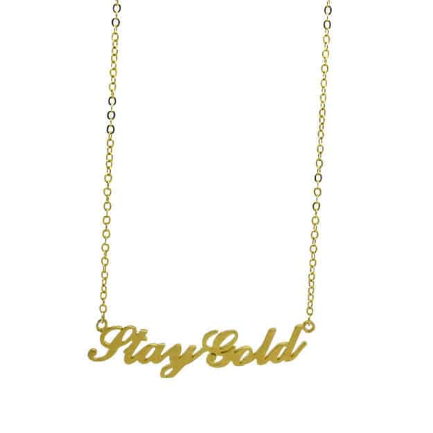 The Outsiders necklace ($24).