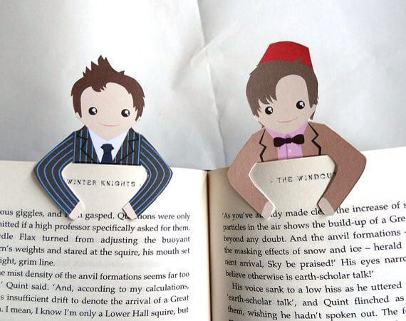 These bookmarks will come in handy all the time.
