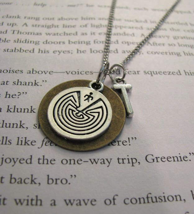 The Maze Runner necklace ($15).