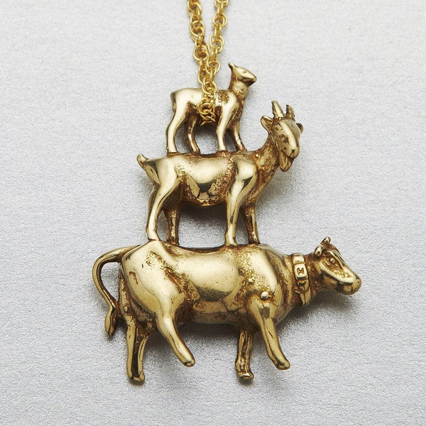 Animal Farm necklace ($130).