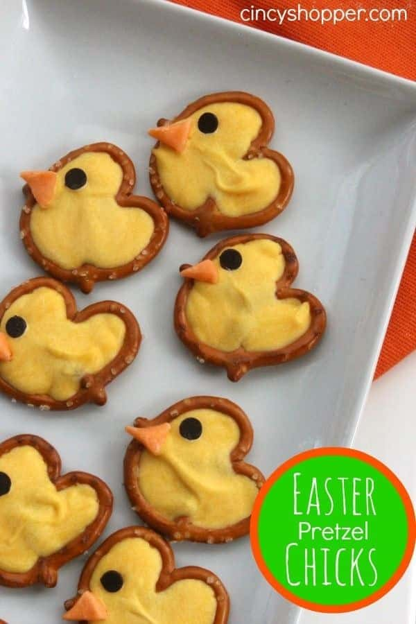 Crack into these adorable pretzel chicks.