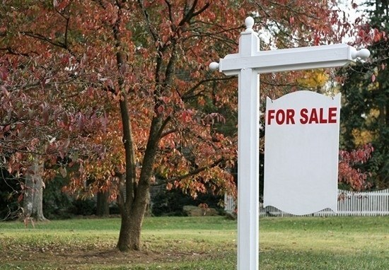 """Put a """"for sale"""" sign in your front yard."""