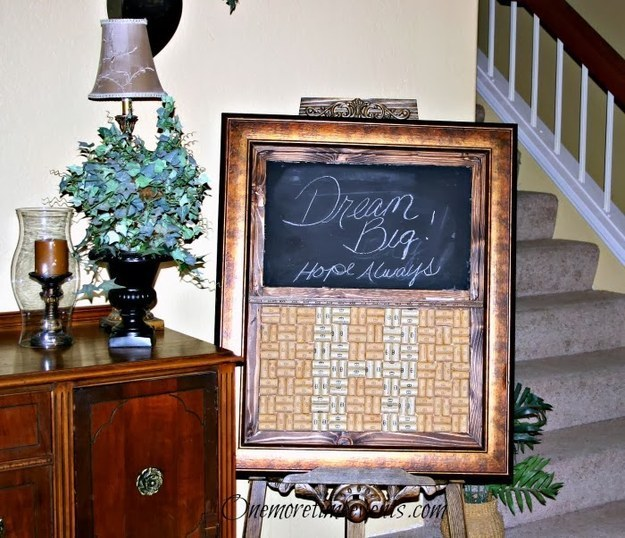Chalk/Wine Cork Board