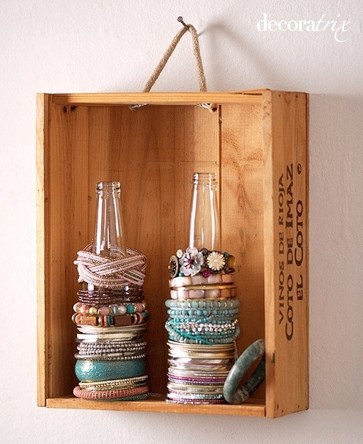 Bottle Bracelet Rack