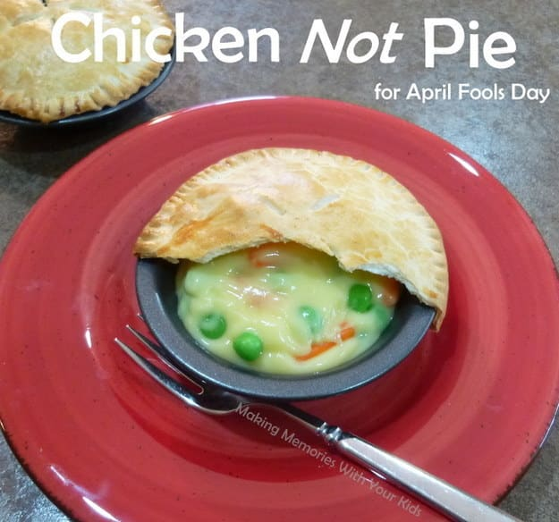 Make your kids chicken not pie with pudding and candy.