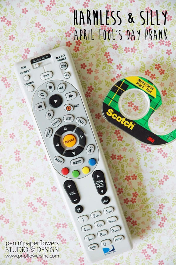Cover the remote sensor with a piece of tape.