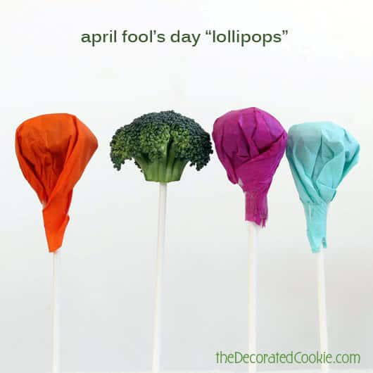 """Give your kid an April Fools' Day """"lollipop."""""""