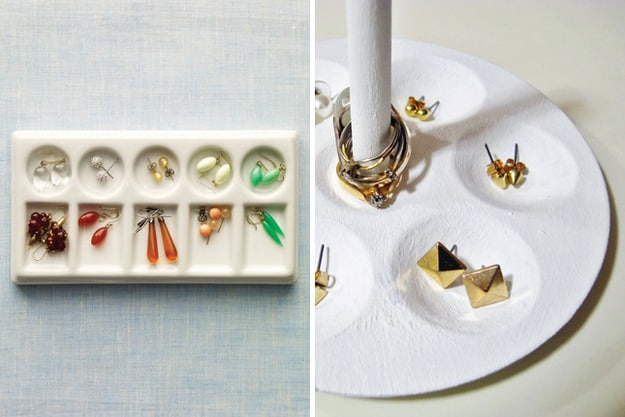 Paint Palette Jewelry Holder