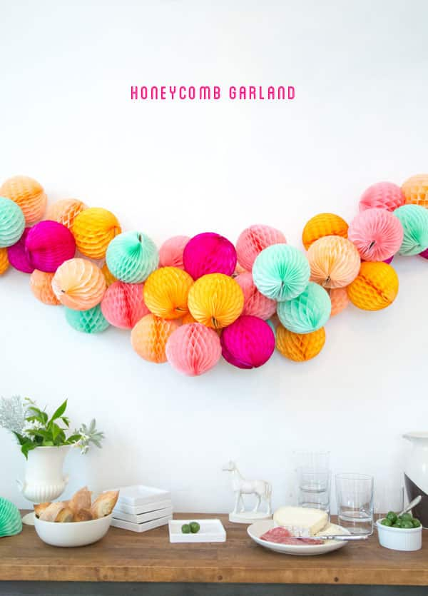 Oh Happy Day: Honeycomb Garland