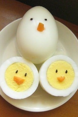 Or Place a Fun New Spin on Hardboiled Eggs