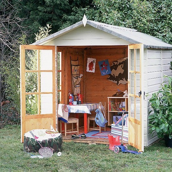 Turn your shed into a livable space.