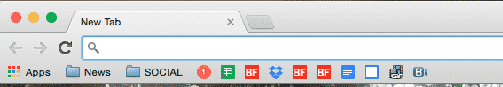 Use only favicons in your bookmarks bar. Right click the bookmark, delete the name, and press Save.