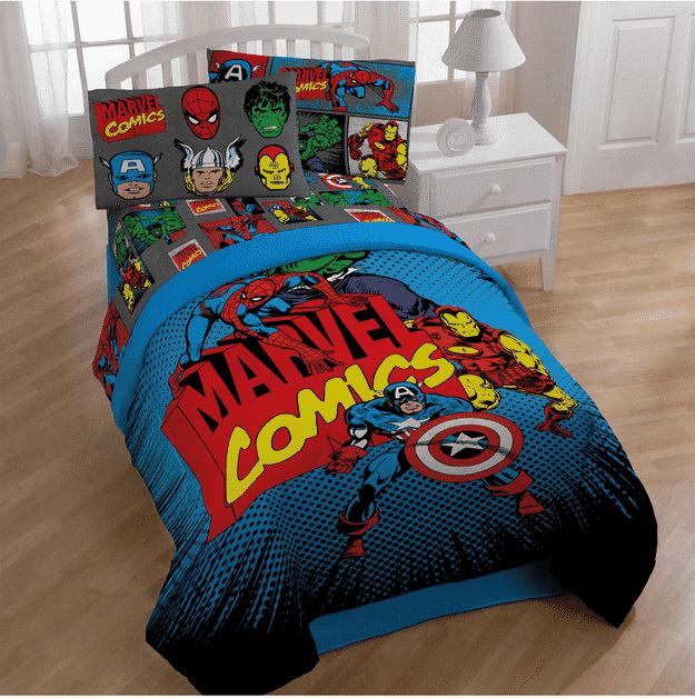 23 DIY Ideas For Making An Awesome Superhero Bedroom -DesignBump