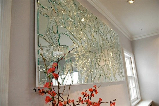 Broken Mirror Wall Art