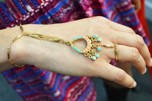 Hand Chain Bracelet Ring