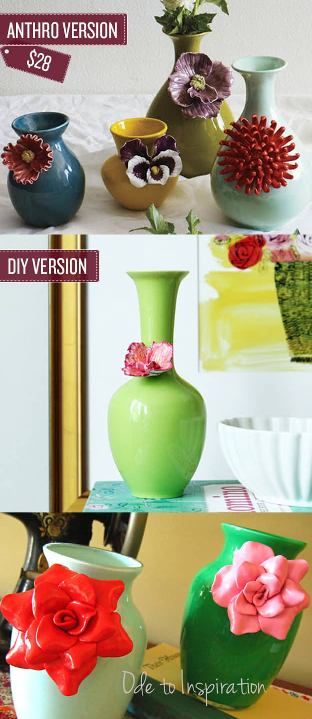 Craft some floral vases.