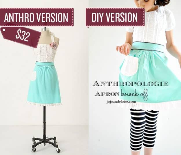 Sew a ruffled apron.