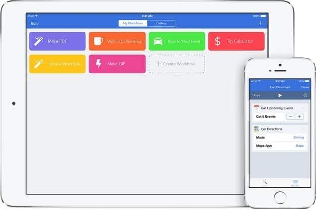 Workflow ($3, iOS)