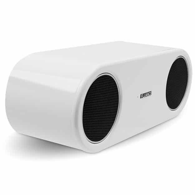 A good Bluetooth option is the Fluance Fi30 Wood Speaker ($150).