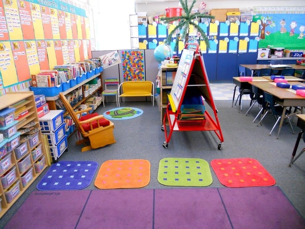 A Vivid, Cheery Classroom