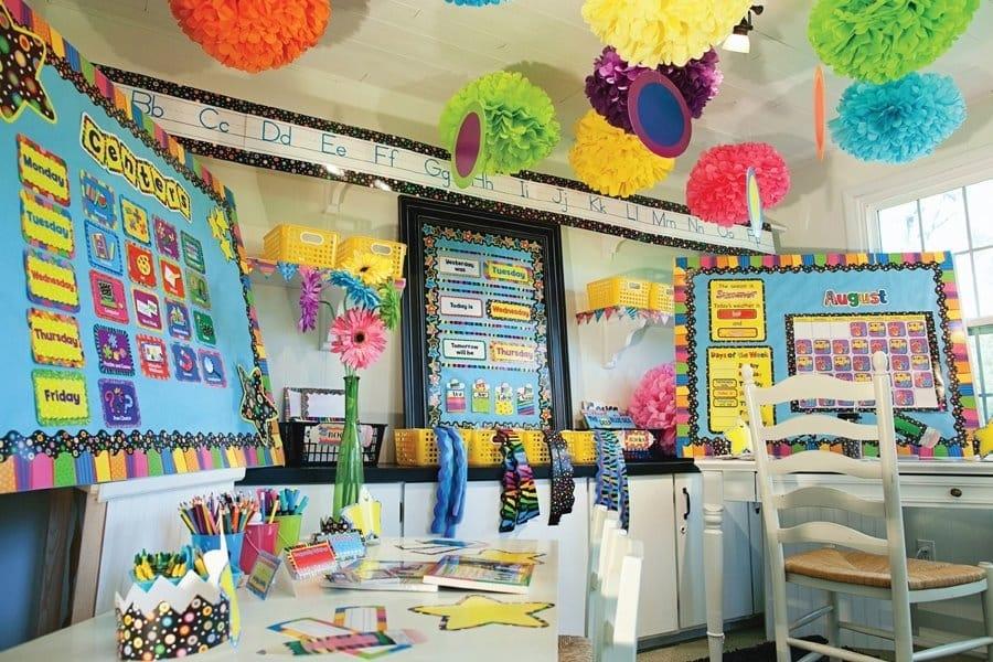 A Springtime-Themed Classroom