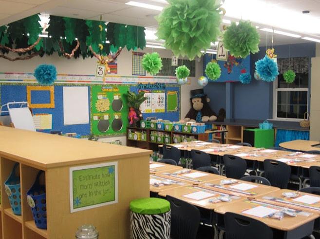 Classroom Waterfall Ideas ~ Most beautiful classroom decor designs designbump