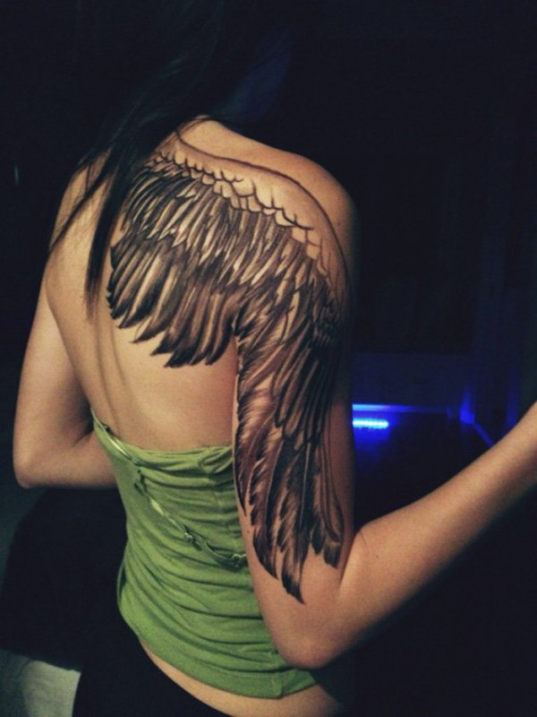 29867d60e Angel Wing Tattoo - 35 Breathtaking Wings Tattoo Designs | Art and Design