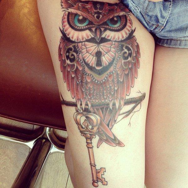 13d0b41ba 55 Gorgeous Thigh Tattoos -DesignBump